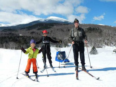 FAMILY XC SKI AND SNOWSHOE DESTINATION VACATIONS