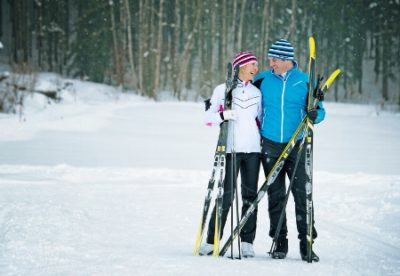 Romantic Getaways for XC Skiers or Snowshoers!