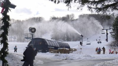 Mount Snow is in full operation