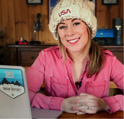 "Hally O'Brien of Ski Magazine's ""The Snow Report"" is the winner of the Mitch Kaplan Award"